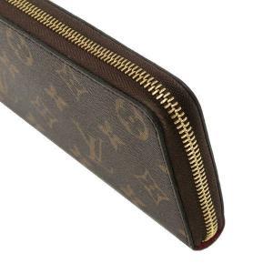 ルイヴィトン 長財布 モノグラム ポルトフォイユ・クレマンス ホットピンク 箱付き M42119 中古(程度極良)|lafesta-k|05