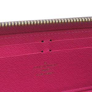 ルイヴィトン 長財布 モノグラム ポルトフォイユ・クレマンス ホットピンク 箱付き M42119 中古(程度極良)|lafesta-k|08