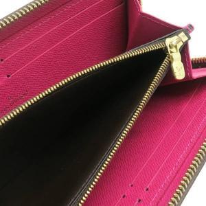 ルイヴィトン 長財布 モノグラム ポルトフォイユ・クレマンス ホットピンク 箱付き M42119 中古(程度極良)|lafesta-k|10
