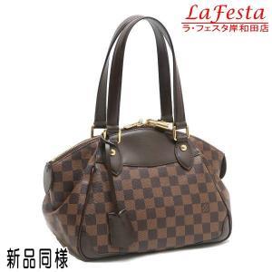 ルイヴィトン ショルダーバッグ ダミエ ヴェローナPM 保存袋付き N41117 中古(新品同様)|lafesta-k