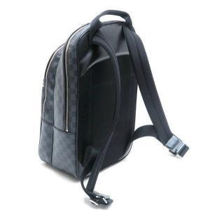 ルイヴィトン リュック ダミエ・グラフィット ミカエル 保存袋付き N58024 中古(程度極良【美品】)|lafesta-k|02