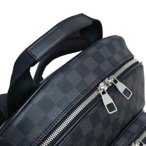 ルイヴィトン リュック ダミエ・グラフィット ミカエル 保存袋付き N58024 中古(程度極良【美品】)|lafesta-k|05