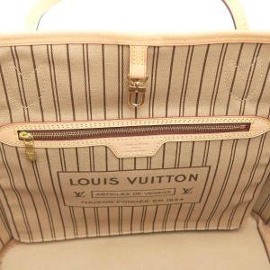 ルイヴィトン トートバッグ モノグラム ネヴァーフルMM ポーチ付き ベージュ 保存袋 M40995 中古(新品同様) lafesta-k 08