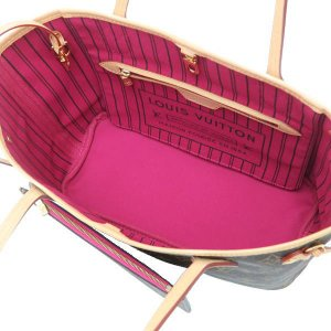 ルイヴィトン トートバッグ モノグラム ネヴァーフルPM ピヴォワンヌ ピンク系 保存袋 M41245 中古(新品同様)|lafesta-k|06
