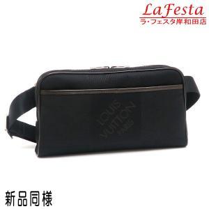 ルイヴィトン ボディバッグ ダミエ・ジェアン アクロバット ノワール 黒 保存袋付き M93620 中古(新品同様)|lafesta-k