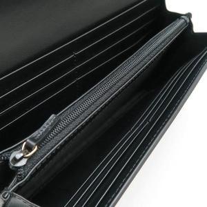 グッチ 2つ折り長財布 レザー ブラック 黒 箱付き 410100 新品|lafesta-k|04