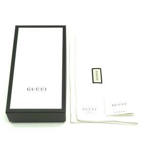 グッチ 2つ折り長財布 レザー ブラック 黒 箱付き 410100 新品|lafesta-k|06