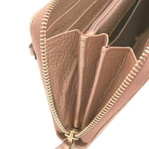 グッチ 長財布 レザー ピンク系シャンパンゴールド 258406 中古(程度極良【美品】)|lafesta-k|08