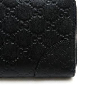 グッチ 長財布 レザー グッチシマ×マイクログッチシマ ブラック 323397 中古(程度極良)|lafesta-k|05