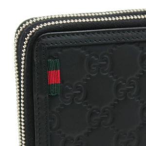 グッチ トラベルケース 長財布 ハンドバッグ レザー ブラック 336298 中古(新品同様)|lafesta-k|05
