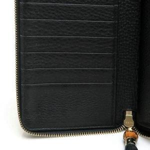 グッチ 長財布 レザー ブラック バンブータッセル 箱付き 232977 中古(程度極良)|lafesta-k|11