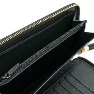 グッチ 長財布 レザー ブラック バンブータッセル 箱付き 232977 中古(程度極良)|lafesta-k|12
