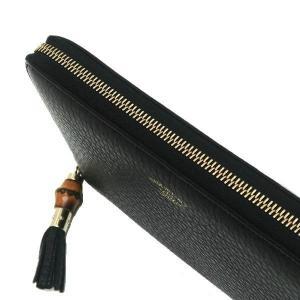 グッチ 長財布 レザー ブラック バンブータッセル 箱付き 232977 中古(程度極良)|lafesta-k|07