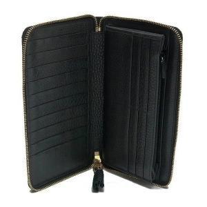 グッチ 長財布 レザー ブラック バンブータッセル 箱付き 232977 中古(程度極良)|lafesta-k|08