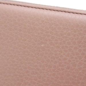 グッチ 長財布 ジップアラウンドウォレット レザー ローズベージュ バンブータッセル 箱付き 307984 中古|lafesta-k|06