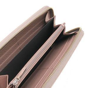 グッチ 長財布 ジップアラウンドウォレット レザー ローズベージュ バンブータッセル 箱付き 307984 中古|lafesta-k|09
