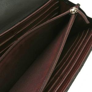 シャネル 2つ折り長財布 ラムスキン マトラッセ ブラック シルバーココ A50096 中古(程度良)|lafesta-k|12