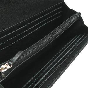 シャネル 2つ折り長財布 ソフトキャビアスキン マトラッセ ブラック シルバーココ A50096 中古(程度良)|lafesta-k|07