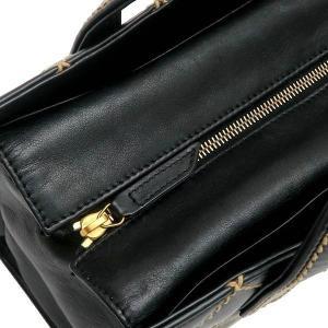 シャネル ハンドバッグ ワイルドステッチ ラムスキン マトラッセ ブラック 箱付き 中古(程度良)|lafesta-k|09
