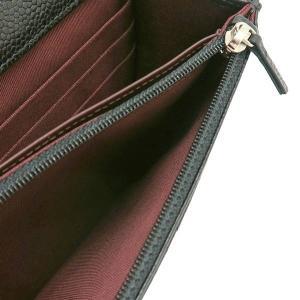 シャネル チェーンウォレット 長財布兼用バッグ マトラッセ キャビアスキン ブラック 箱 紙袋付き A33814 中古(程度極良)|lafesta-k|11