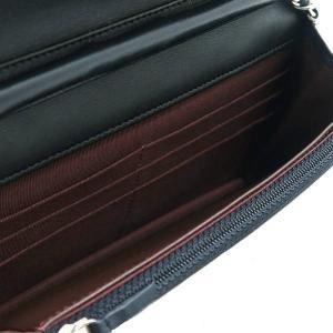シャネル チェーンウォレット 長財布兼用バッグ マトラッセ ラムスキン ブラック 箱付き A33814 中古(新品同様)|lafesta-k|11