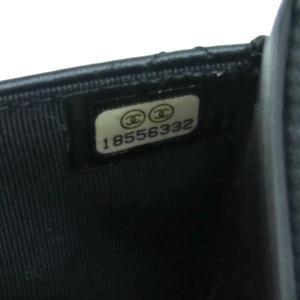 シャネル チェーンウォレット 長財布兼用バッグ マトラッセ ラムスキン ブラック 箱付き A33814 中古(新品同様)|lafesta-k|13