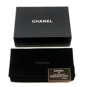 シャネル チェーンウォレット 長財布兼用バッグ マトラッセ ラムスキン ブラック 箱付き A33814 中古(新品同様)|lafesta-k|15