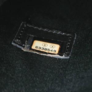 シャネル 復刻トート キャビアスキン ブラック シルバー金具 A01804 中古(程度極良)|lafesta-k|10