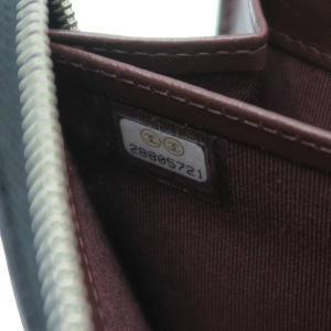 シャネル 長財布 クラシック ロング ジップ ウォレット マトラッセ キャビアスキン ブラック シルバーココ 箱付き AP0242 新品 lafesta-k 08