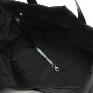 シャネル ニュートラベルライン トートバッグMM ブラック 黒 保存袋付き A15991 中古(程度極良)|lafesta-k|07