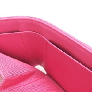 シャネル 3つ折り財布 スモール フラップ ウォレット キャビアスキン マトラッセ ピンク 箱付き AP0229 中古(新品同様) lafesta-k 08