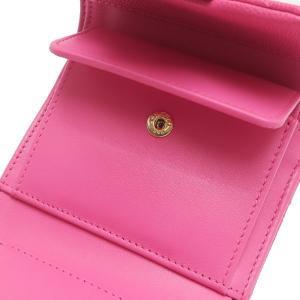 シャネル 3つ折り財布 スモール フラップ ウォレット キャビアスキン マトラッセ ピンク 箱付き AP0229 中古(新品同様) lafesta-k 09