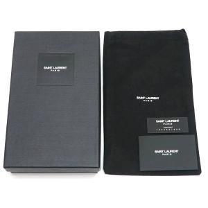 サンローラン 長財布 フラップウォレット 型押レザー ベージュ 箱付き 372264  中古(程度極良【美品】)|lafesta-k|11
