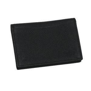 ブルガリ カードケース ブルガリ・ブルガリ マン グレインレザー ブラック 280297 中古(程度極良)|lafesta-k|02