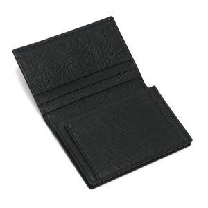 ブルガリ カードケース ブルガリ・ブルガリ マン グレインレザー ブラック 280297 中古(程度極良)|lafesta-k|05