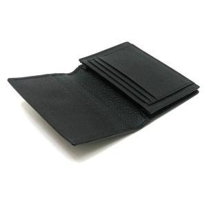 ブルガリ カードケース ブルガリ・ブルガリ マン グレインレザー ブラック 280297 中古(程度極良)|lafesta-k|06