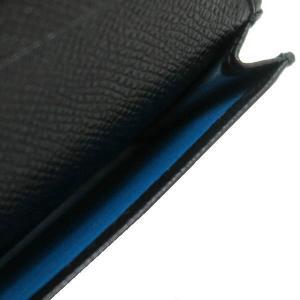ブルガリ カードケース ブルガリ・ブルガリ マン グレインレザー ブラック 280297 中古(程度極良)|lafesta-k|08