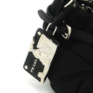 プラダ ショルダーバッグ ナイロン ブラック BR3815 中古(新品同様)|lafesta-k|05