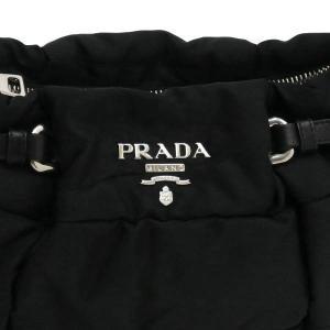 プラダ ショルダーバッグ ナイロン ブラック BR3815 中古(新品同様)|lafesta-k|06