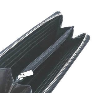 コーチ 長財布 PVCコーティングキャンバス×レザー グレー×ブラック F54630 新品(アウトレット) lafesta-k 06