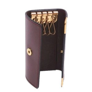 カルティエ 4連キーケース マストライン レザー ボルドー Gカード 箱付き L3000453 中古(程度極良)|lafesta-k|04