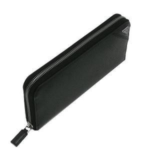 プラダ 長財布 グレインレザー ブラック シルバー三角プレート Gカード 箱 紙袋付き 2ML317 新品|lafesta-k|03
