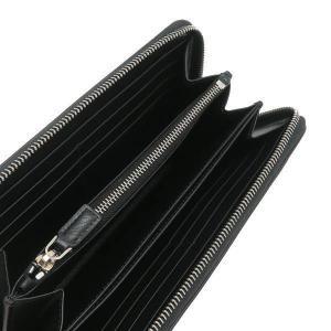 プラダ 長財布 グレインレザー ブラック シルバー三角プレート Gカード 箱 紙袋付き 2ML317 新品|lafesta-k|05