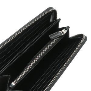 プラダ 長財布 グレインレザー ブラック シルバー三角プレート Gカード 箱 紙袋付き 2ML317 新品|lafesta-k|06