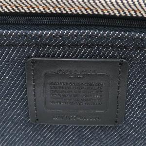 コーチ トートバッグ  ウォッシュドデニムトート ホース アンド キャリッジ ロゴ付き ネイビー×グレー F39904 新品|lafesta-k|08