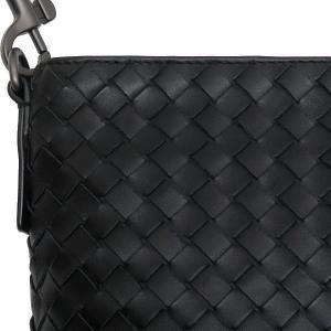 ボッテガ・ヴェネタ ショルダーバッグ イントレチャート メッセンジャーバッグ レザー ブラック 保存袋付き 276356 新品(展示品)|lafesta-k|07
