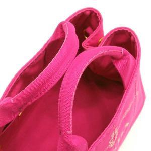 プラダ 2Wayバッグ CANAPA カナパ ストラップ付き キャンバス FUXIA ピンク  保存袋 箱付き B2439G 中古(新品同様)|lafesta-k|06