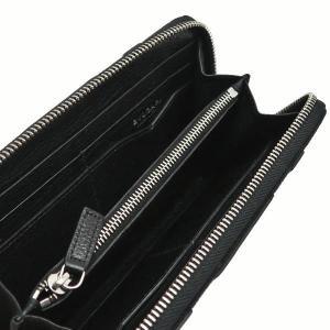 ブルガリ 長財布 キャンバス×レザー ブラック 箱 紙袋付き 33776 中古(新品同様)|lafesta-k|06