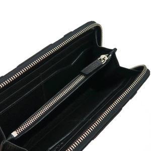ブルガリ 長財布 キャンバス×レザー ブラック 箱 紙袋付き 33776 中古(新品同様)|lafesta-k|07