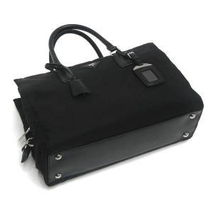 プラダ 2Wayバッグ TESSUTO+SAFFIAN ナイロン×レザー ブラック 保存袋付き BN2300 中古(程度極良)|lafesta-k|04